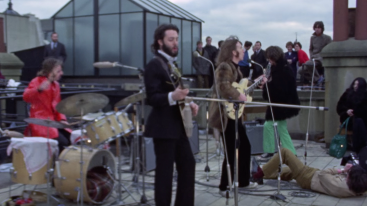 The Final Live Performance Of The Beatles Don T Let Me Down Rooftop Concert Rock Pasta